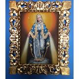 Quadro Cusquenho Nossa Senhora ,virgem Maria 50 X 60 Cm