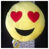 Peluche Cojín Emoji Enamorado De Whatsapp Empaque Original
