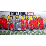 Bandera De Egresados Graffiti Mural