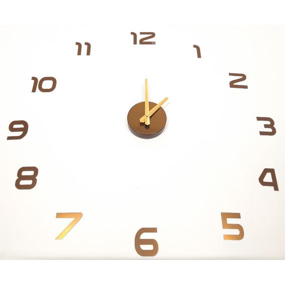 Reloj Gigante De Pared 3d Pacho's