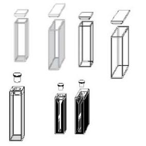 Celdas de cuarzo para espectrofotometro 69