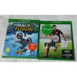 Fifa 15 + Trials Fusion Xbox One Mídia Física