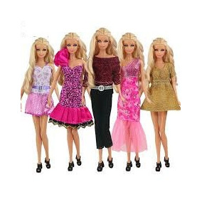 Vestidos de barbie fashionista