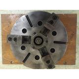 Placa Hidráulica P/ Torno Cnc 6 Paraf. Fixação 400mm
