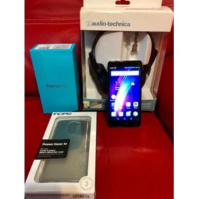 Huawei Honor 6x, Protector Y Audífonos Audio-technica.