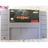 Mortal Combat Ll Super Nintendo