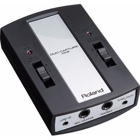 Interface Roland Usb Duo Capture Mk2 - Ua11 Mk2 Com Nota