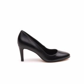 Lady Stork Desire - Zapato De Vestir Cuero Mujer Taco Medio