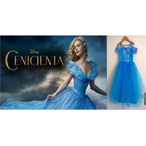Vestido Disfraz Princesa Cenicienta 2015