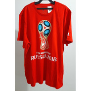 Camisa Oficial Copa Do Mundo Rússia 2018 Vermelha Gg (xl)