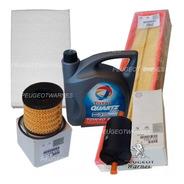 Kit 4 Filtros Originales + Aceite Peugeot 307 1.6 16v 06/10