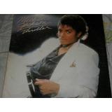 Michael Jackson Thriller Printed Venezuela Lp Vinilo Disco