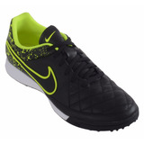 Botines Nike Tiempo Genio Leather Tf Cuero Papi 631284-007