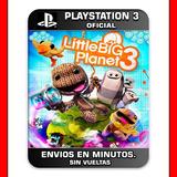 Little Big Planet 3 Ps3 Digital N°1 En Ventas En Argentina
