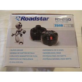 Corneta Roadstar Rs 215d Super Drive 3000watts Novo Nf