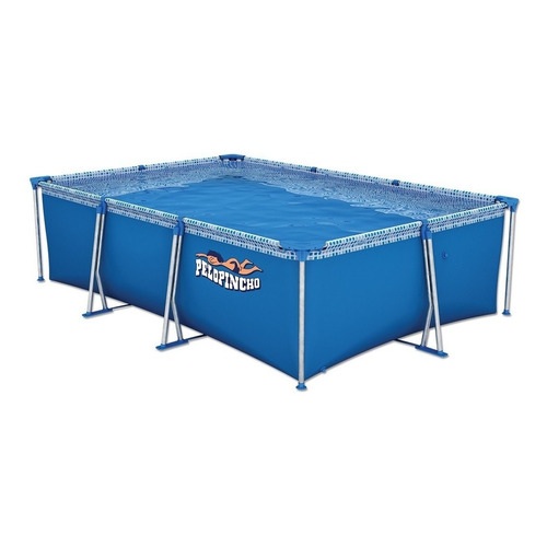 Pileta estructural rectangular Pelopincho 1055 con capacidad de 4500 litros de 3m de largo x 2m de ancho