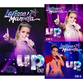 Dvd + 2 Cds Larissa Manoela Up Tour - Pronta Entrega!