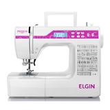 Máquina De Costura Elgin Premium 100 Pontos Eletrônica Jx1