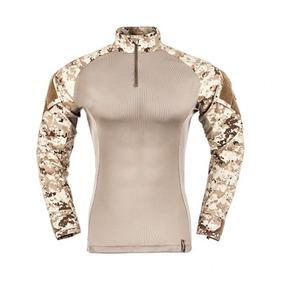 Camisa Raptor T-shirt Combat Invictus Deserto Dg C Rip Stop