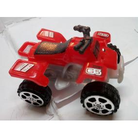Juguete Mini Moto Playera 4 Rueda 6cm Motor De Fricción New