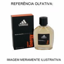 Amostra De Perfume Adidas Deep Energy Masculi Contratipo 2ml