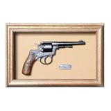 Quadro Réplica Arma Revolver Simson Cal38 - Clássico