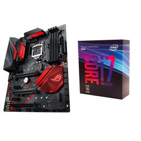 Processador Intel Core I7 8700k + Placa Mãe Z370 H Strix