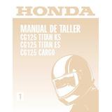 Manual De Taller Honda Cg 125 (pdf)