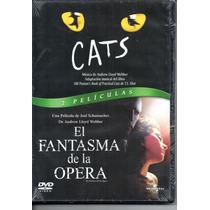 Cats & El Fantasma De La Ópera/2 Películas Musicales 2 D V D
