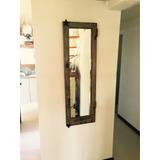 Espejos Con Marcos De Ventanas Y Puertas Rústicos