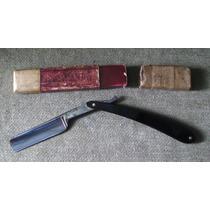 Navaja Barbera Antigua Acero Sueco Sellada Cv.heljestrand