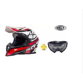 Capacete Thh + Óculos Scott Honda,motocross,trilha - Acessórios de ... 1a18bc6404