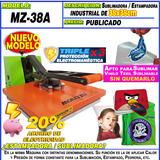 Estampadora Sublimadora Plancha Transfer 38x38cm Moritzu