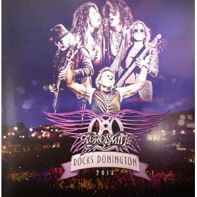 Aerosmith - Rocks Donington 2014 - 2 Cds + Dvd Importado