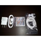 Cargador + Cable Usb + Audifonos + Bateria Samsung Y Lg
