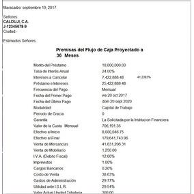 Programa Flujo Caja Proyectado 600 Meses Excel + Bono Regalo