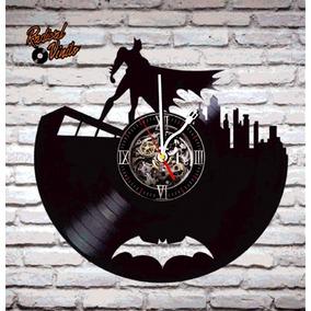 Reloj De Vinilo Retro Batman