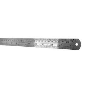 Régua De Inox 60 Cm - 24 Polegadas - Brasfort