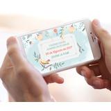 Invitación Infantil Digital Tipo Vídeo / Videoinvitacion