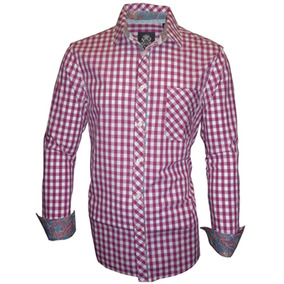 Camisa Casual Caballero Hombre Manga Larga English Laundry