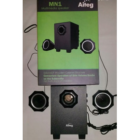 Cornetas Sonido 2.1 Aiteg Mp3 Musica Amplicador Celular Mp4
