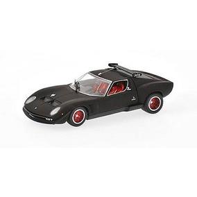 Lamborghini Jota Svr Negro Mate 1/43 Kyosho Ed Ltda 1008