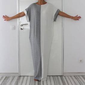 Vestidos Frescos De Día Casuales Largos Holgados Cómodo Dos