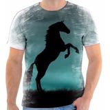 Camisa Camiseta Blusa Animal Cavalo Cavalgada Garanhão 018