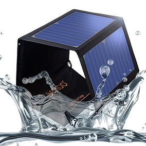 Sokoo 22w 5v 2-port Usb Cargador Solar Plegable Portátil Co