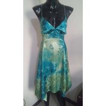 Vestido Lindo Satinado Colores D Moda Liz Minelli T Ch