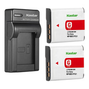 Cargador + 2 Baterías Sony Cibershot Np-bg1 Dsc W3 Oferta!