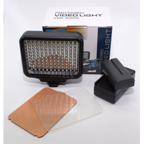 Iluminador Led-5009 + Bateria F570 (1:30hrs) + Carregador