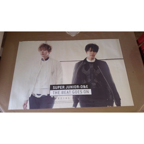 Poster Super Junior-d&e The Beat Goes On (original / K-pop)