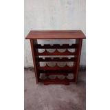 Mueble Bodega De Algarrobo Para 12 Botellas $ 950